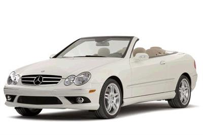MERCEDES BENZ-CLK-550